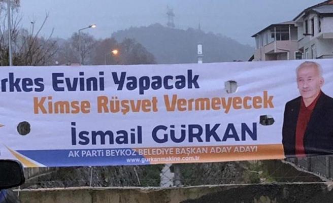 AK Partili Adaydan 'Rüşvetli Propaganda'