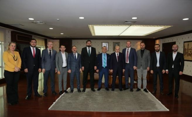 BEM-BİR-SEN'den Başkan Çelikbilek'e Nezaket Ziyareti