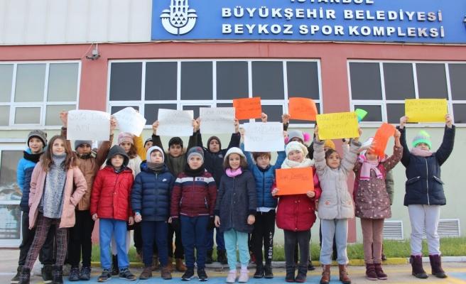 Spora Gönül Vermiş Beykozlu Çocuklar, İBB'ye Seslendi