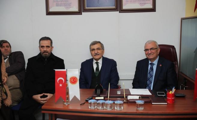 Beykoz Belediye Başkan Adayı Aydın'dan Derneklere Ziyaret