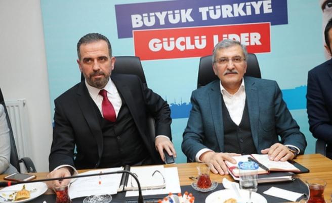 Murat Aydın, AK Parti Beykoz Teşkilatı İle Buluştu