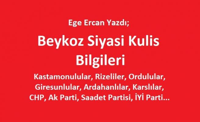 Beykoz Siyasi Son Kulis Bilgileri...