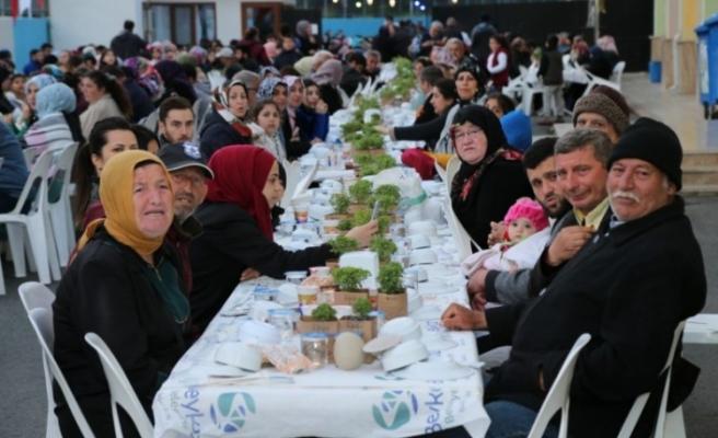 Beykoz'un Köylerinde Muhabbet Dolu İftar Sofraları