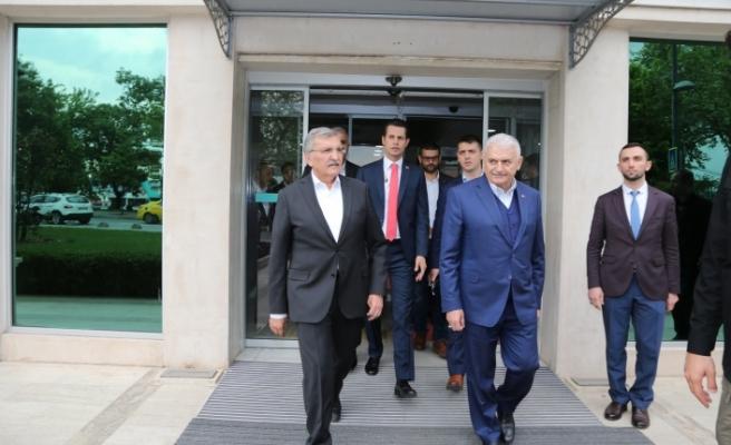Binali Yıldırım Seçim Çalışmalarına Beykoz'dan Başladı