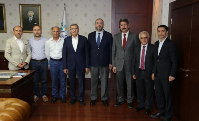 Murat Aydın'a Üniversitelerden Nezaket Ziyareti