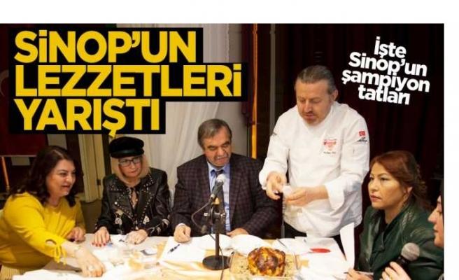 Sinop'un Lezzetleri İstanbul'da Yarıştı