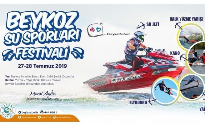Kanodan Yağlı Direğe Beykoz Su Sporları Festivali Başlıyor