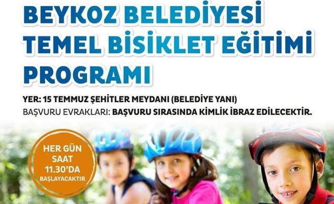 Ücretsiz Temel Bisiklet Eğitimi Başlıyor