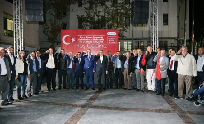 Beykoz'dan Barış Pınarı'na Dualar Yükseldi