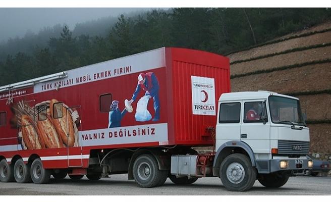 Beykoz Kızılay Şubesi, Deprem Bölgesine 3 TIR İnsani Yardım Malzemesi Gönderiyor