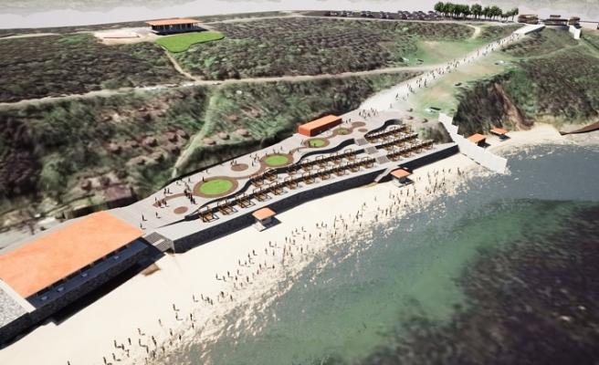 Riva Belediye Plajı Açılıyor