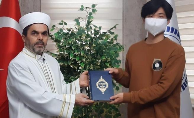 Güney Koreli Genç İslamı Seçti 'Ertuğrul' oldu