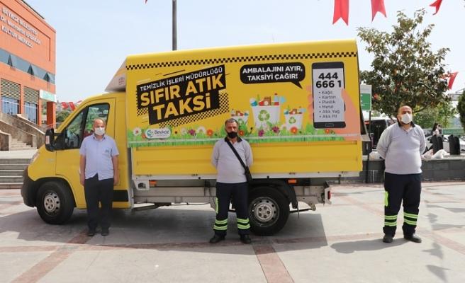 Beykoz'da atıklar bu taksi ile toplanacak