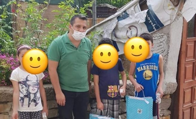 Beykozlu Çocuklara Görentaşlılardan Bayram Hediyesi
