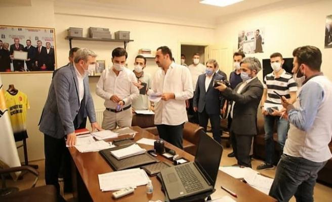 AK Parti Beykoz'da hedef 50 bin üye