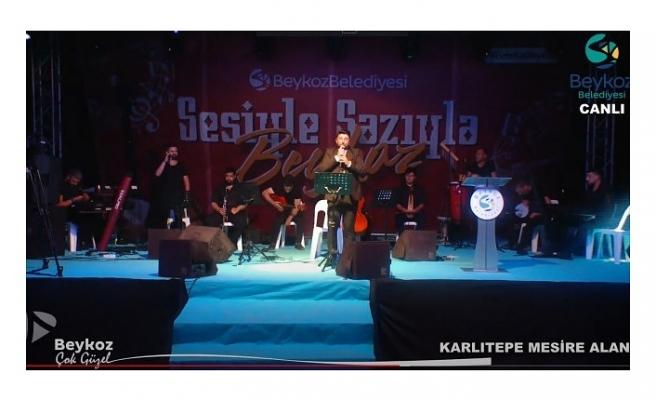 """Beykoz'da """"sazıyla, sözüyle"""" müzik şöleni başladı"""