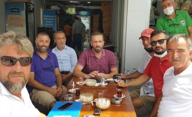 Riva'da imza topladılar, Hanefi Dilmaç'a teslim ettiler