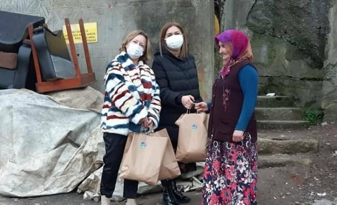 Acarkent Rotary'den Beykoz'un köylerine gıda yardımı