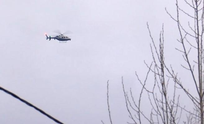 Beykoz Çavuşbaşı'nda helikopter düştü ihbarı