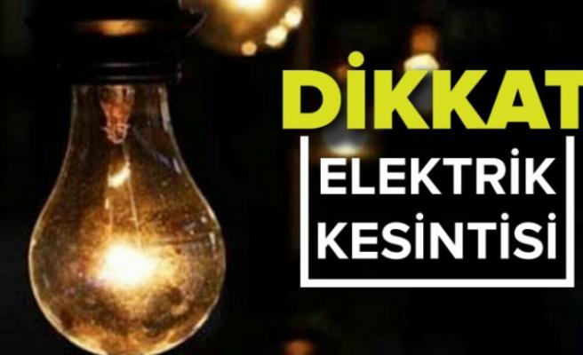 Beykoz'un bir çok mahallesinde elektrik kesintileri yapılacak