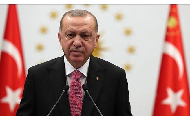 """Cumhurbaşkanı Erdoğan'dan Sevgi Kılıç'a """"vitrin mankeni"""" benzetmesi"""