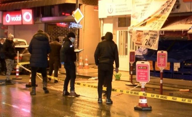 Beykoz'da ofisten çıkan 2 kişiye silahlı saldırı: 1 ölü 1 yaralı