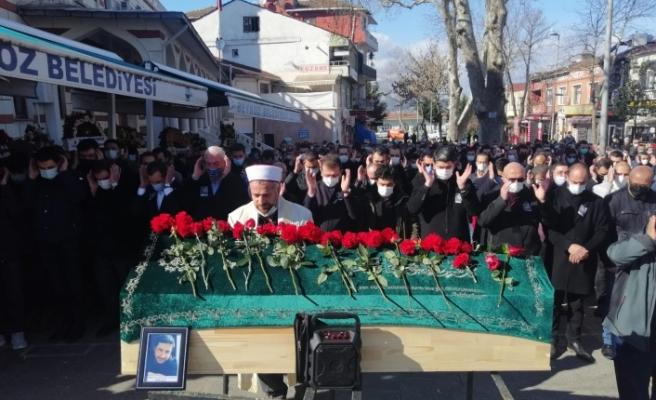 CHP Beykoz, Murat Kaya'yı son yolculuğuna uğurladı