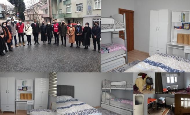 """""""GönülHanem"""" Projesi'nde ilk çocuk odası tamamlandı"""