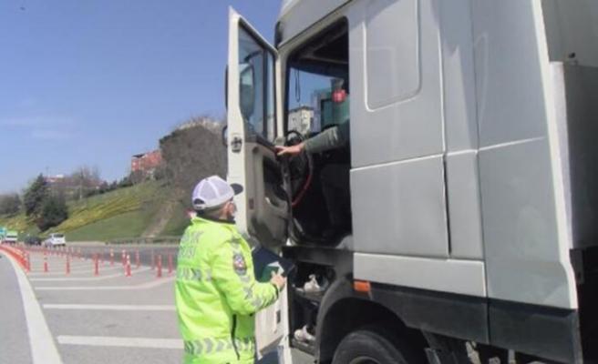 Beykoz TEM'de drone destekli trafik denetimi