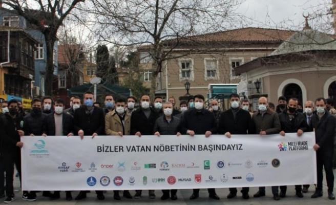 Beykoz'da STK'lardan darbe imalı bildiriye tepki!