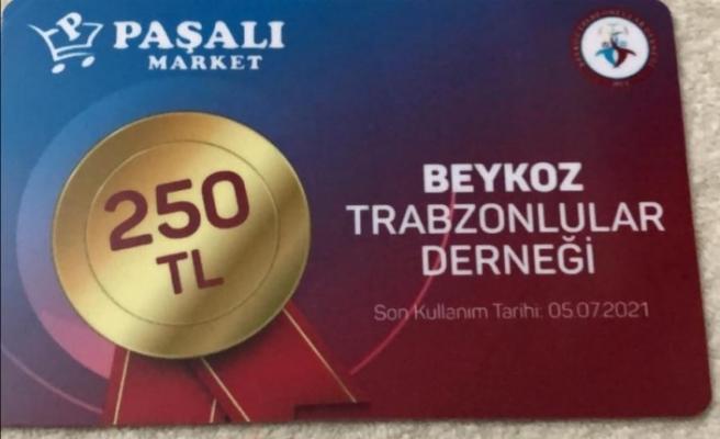 Beykozlu Trabzonlulardan 40 bin lira