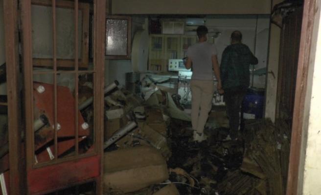 Beykoz'da ıslak mendil imalathanesinde korkutan yangın