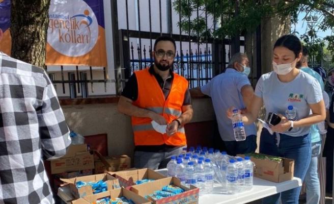 Beykoz gençlerinden üniversite adaylarına tam destek