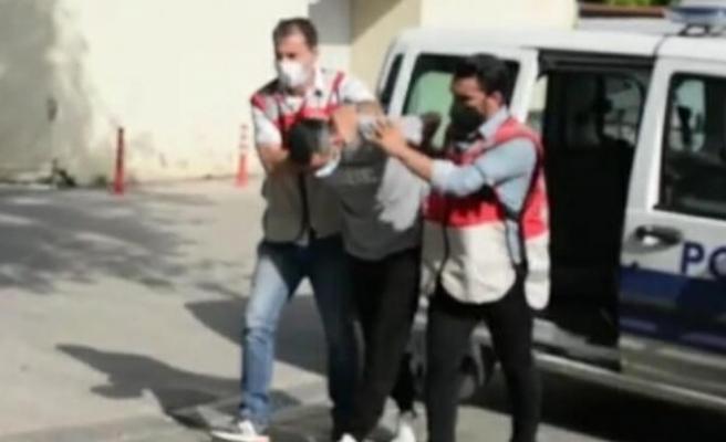Beykoz'da engellileri darbeden kişi tutuklandı