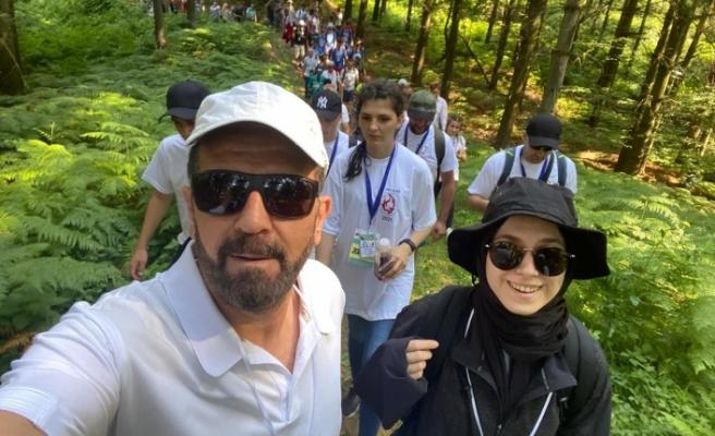 Hanefi Dilmaç Srebrenitsa - Tuzla yolundaki Barış Yürüyüşü'ne katıldı