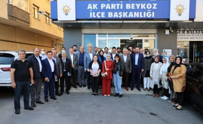 AK Parti milletvekillerinden Beykoz çıkarması!