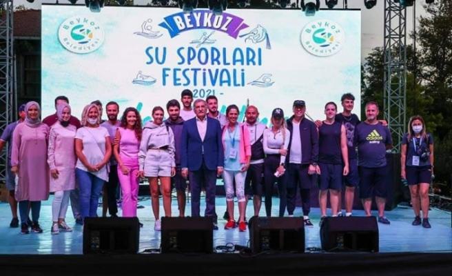 Beykoz Su Sporları Festivali'nde muhteşem final