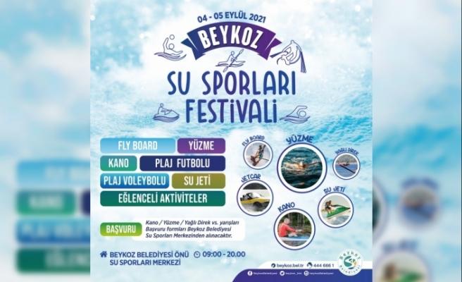 Beykoz'da Su Sporları Festivali Heyecanı Yaşanacak