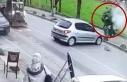 Beykoz'da feci kaza! Metrelerce havaya uçtu