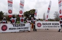 Beykoz'da Migros çalışanlarının eylemi devam...