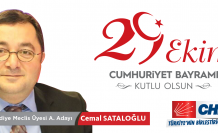 Cemal Sataloğlu'ndan 29 Ekim Cumhuriyet Bayramı Mesajı