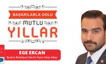 Ege Ercan'dan Yeni Yıl Mesajı