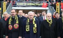 Binali Yıldırım Beykoz Stadı'nı Açtı