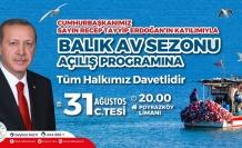 Cumhurbaşkanı Erdoğan Balık Av Sezonunu Poyrazköy'de Açıyor