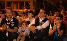 İmamoğlu, Beykoz'da İzci Kampına Katıldı