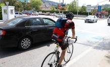 Mavi Bekleme Alanlarıyla Bisikletliler Daha Güvende