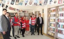 Beykoz Kızılay'ından İyilik Kütüphanesi