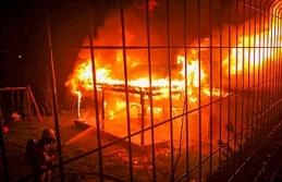 Beykoz'da ahşap bina yangını