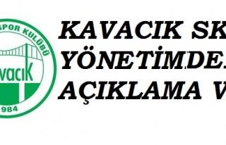 Kavacıkspor'dan, Kavacık Muhtarı Yusuf Kesici Hakkında...