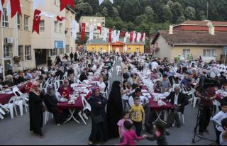Tokatköy'de İftar Sevinci